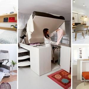 عکس - تختخواب های طراحی شده برای اتاقهای کوچک