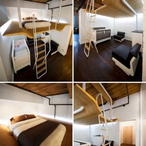 تصویر - تختخواب های طراحی شده برای اتاقهای کوچک - معماری