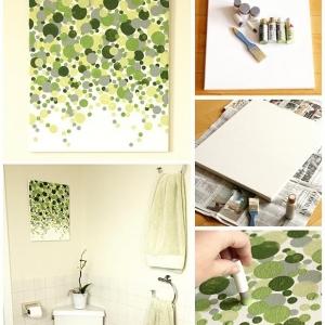 تصویر - ارزانترین و آسان ترین راههای ایجاد یک تابلوی دیواری زیبا - معماری