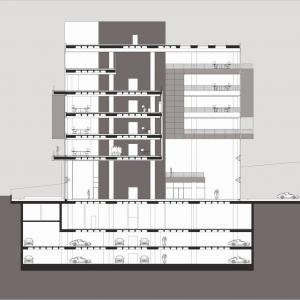 تصویر - مدیا سنتر دوغان ، اثر تیم معماری Tabanlioglu ، ترکیه  - معماری