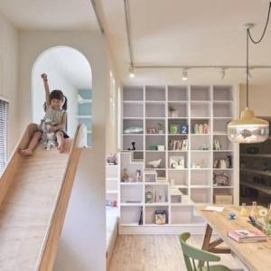 عکس - آپارتمانی با فضایی جذاب برای کودکان