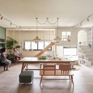 تصویر - آپارتمانی با فضایی جذاب برای کودکان - معماری