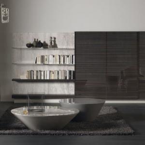 عکس - پنهان ساختن میز تلویزیون در طراحی