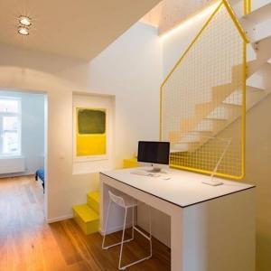 تصویر - پلکانی خاص با فضای درونی مخفی - معماری