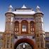 عکس - مرمت سر در باغ ملی تحت نظارت سازمان میراث فرهنگی