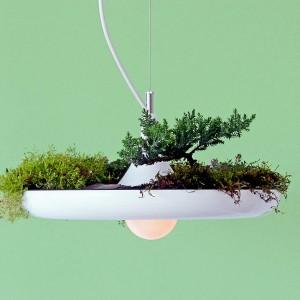 عکس - چراغ و گلدان آویز Babylon ، اثر طراح Ryan Taylor