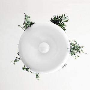تصویر - چراغ و گلدان آویز Babylon ، اثر طراح Ryan Taylor - معماری