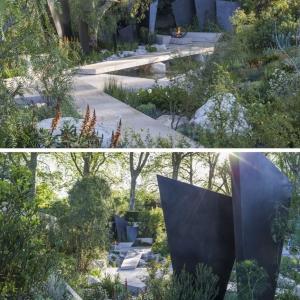 تصویر - نمونه هایی از طراحی فضای سبز در نمایشگاه گل 2016 چلسی - معماری
