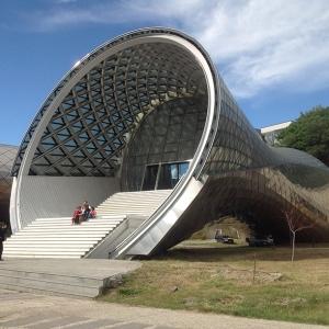 تصویر - نگاهی به مجموعه فرهنگی جدید در تفلیس،گرجستان - معماری