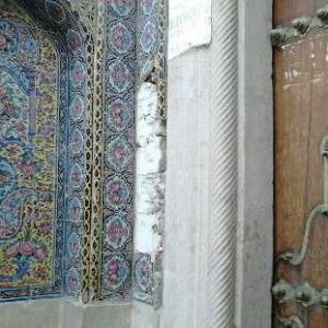 عکس - جزییات جدید از سرقت مسجد نصیرالملک