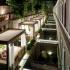 عکس - حیاط اختصاصی برای اتاقهای هتلی در استانبول