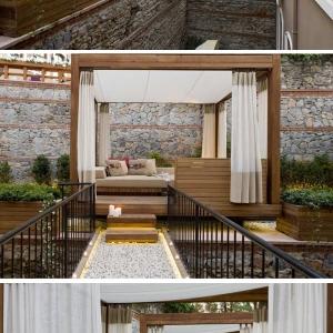 تصویر - حیاط اختصاصی برای اتاقهای هتلی در استانبول - معماری