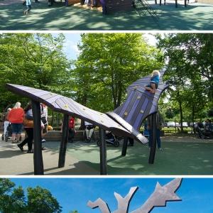 تصویر - نمونه هایی از زمین های بازی خلاقانه - معماری