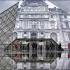عکس - مثل زخم روی صورت پاریس ، هرم لوور آنامورفیک شد.