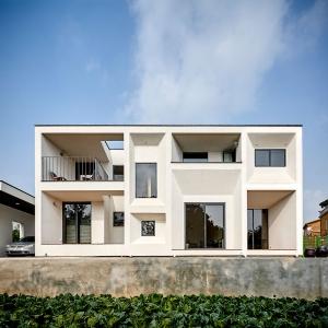 عکس - ساختمان مسکونی Cinema House ، اثر تیم معماری UTAA ، کره جنوبی
