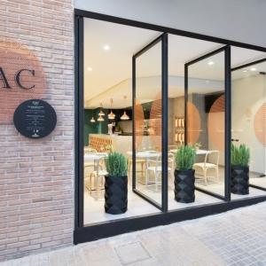 عکس - استفاده از مس در طراحی داخلی رستوران