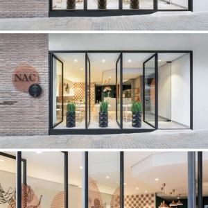 تصویر - استفاده از مس در طراحی داخلی رستوران - معماری