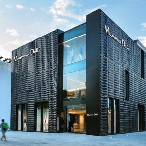 عکس - فروشگاه Massimo Dutti ، اثر تیم طراحی Sordo Madaleno ، مکزیک