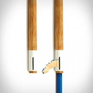 تصویر - خلاقیت در طراحی ،نگهدارنده مداد  - معماری