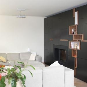 تصویر - خلاقیت در طراحی دیوار فضای نشیمن - معماری