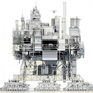 تصویر - شهرهای متحرک قرن 21 ، معماری عشایری یا الگوی فوتوریستی - معماری