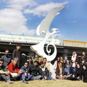 تصویر - نماد میدان راهآهن، از یادمانهای باپیشینه شهر مشهد است - معماری