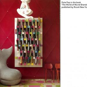 عکس - قفسه کتاب مدرن PIOLA ، اثر طراح Jaime Derringer