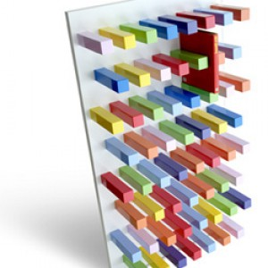 تصویر - قفسه کتاب مدرن PIOLA ، اثر طراح Jaime Derringer - معماری