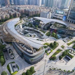 عکس - مرکز شهر و منطقه تجاری Parc Central ، اثر تیم طراحی Benoy ، چین