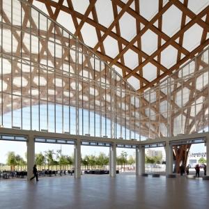 تصویر - مرکز فرهنگی Pompidou-Metz ، اثر تیم معماری Shigeru Ban ، فرانسه - معماری