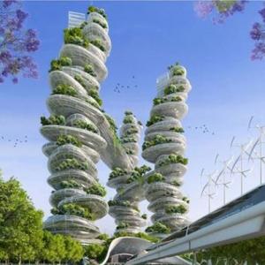 تصویر - پروژه شهر هوشمند پاریس در سال 2050 - معماری