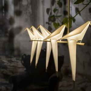 تصویر - چراغهای پرنده اریگامی - معماری