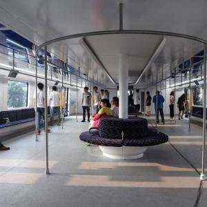 تصویر - اتوبوس هوایی چینی ها با قابلیت عبور از خودروها - معماری