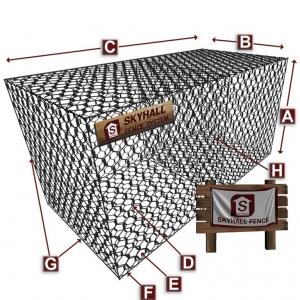 تصویر - گابیون ( Gabion ) چیست و دارای چه کاربردی می باشد ؟  - معماری