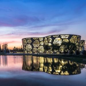 عکس - موزه گل رز ( Rose Museum ) ، اثر تیم معماری NEXT Architects ، چین