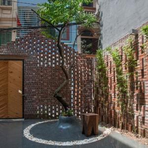تصویر - طراحی داخلی حیاط خانه ای در ویتنام - معماری