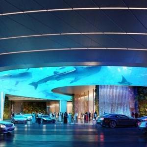 تصویر - جنگل در طبقه اول، استخر در پشت بام  گزارش تصویری از هتلی عجیب در دبی - معماری