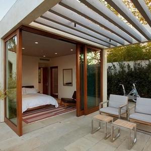 تصویر - انواع سایبان های خاص برای فضاهای بیرونی - معماری