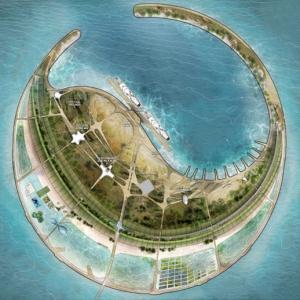 تصویر - طرحهای منتخب جزیره مصنوعی چین معرفی شدند - معماری