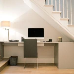 تصویر - ایده های فوق کاربردی برای استفاده از فضای زیر پله - معماری