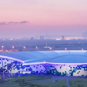 عکس - افتتاح بزرگترین شهربازی سرپوشیده دنیا در دبی