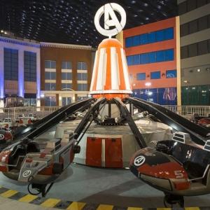 تصویر - افتتاح بزرگترین شهربازی سرپوشیده دنیا در دبی - معماری