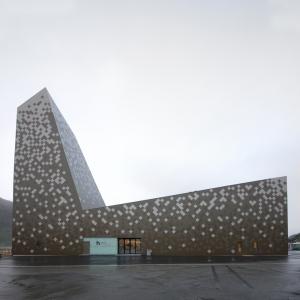 عکس - مرکز کوهنوردی Norwegian ، اثر تیم طراحی Reiulf Ramstad Architects ، نروژ