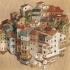 عکس - معماری و شهرهای وارونه در آثار ویدال آگولو