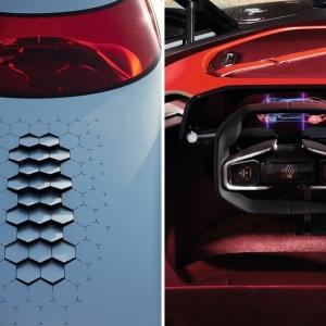 تصویر - رنو الکتریکی Trezor آینده ای نو - معماری