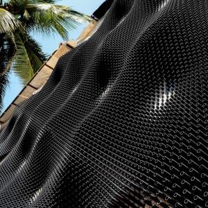 تصویر - مرکز فرهنگی Bad Cafe با پوسته ای خاص در نما ، اثر تیم معماری Nudes ، هند - معماری
