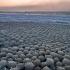 عکس - توپ های یخی دریاچه میشیگان و ساحل Stroomi
