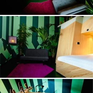 تصویر - هتل Volkshotel ، طراحی 9 اتاق توسط 9 طراح با ایده های متفاوت ، آمستردام - معماری
