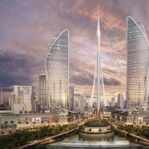 تصویر - ساخت مرتفعترین برج جهان آغاز شد - معماری