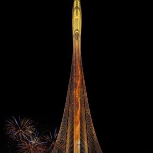 عکس - برج جدید طراحی شده توسط سانتیاگو کالاتراوا در دبی